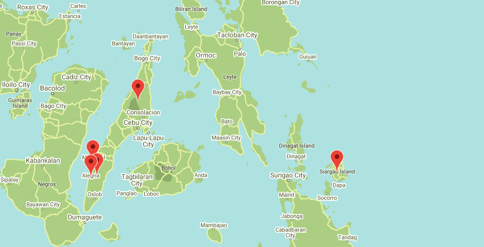 Voyages Yulgo Philippines map
