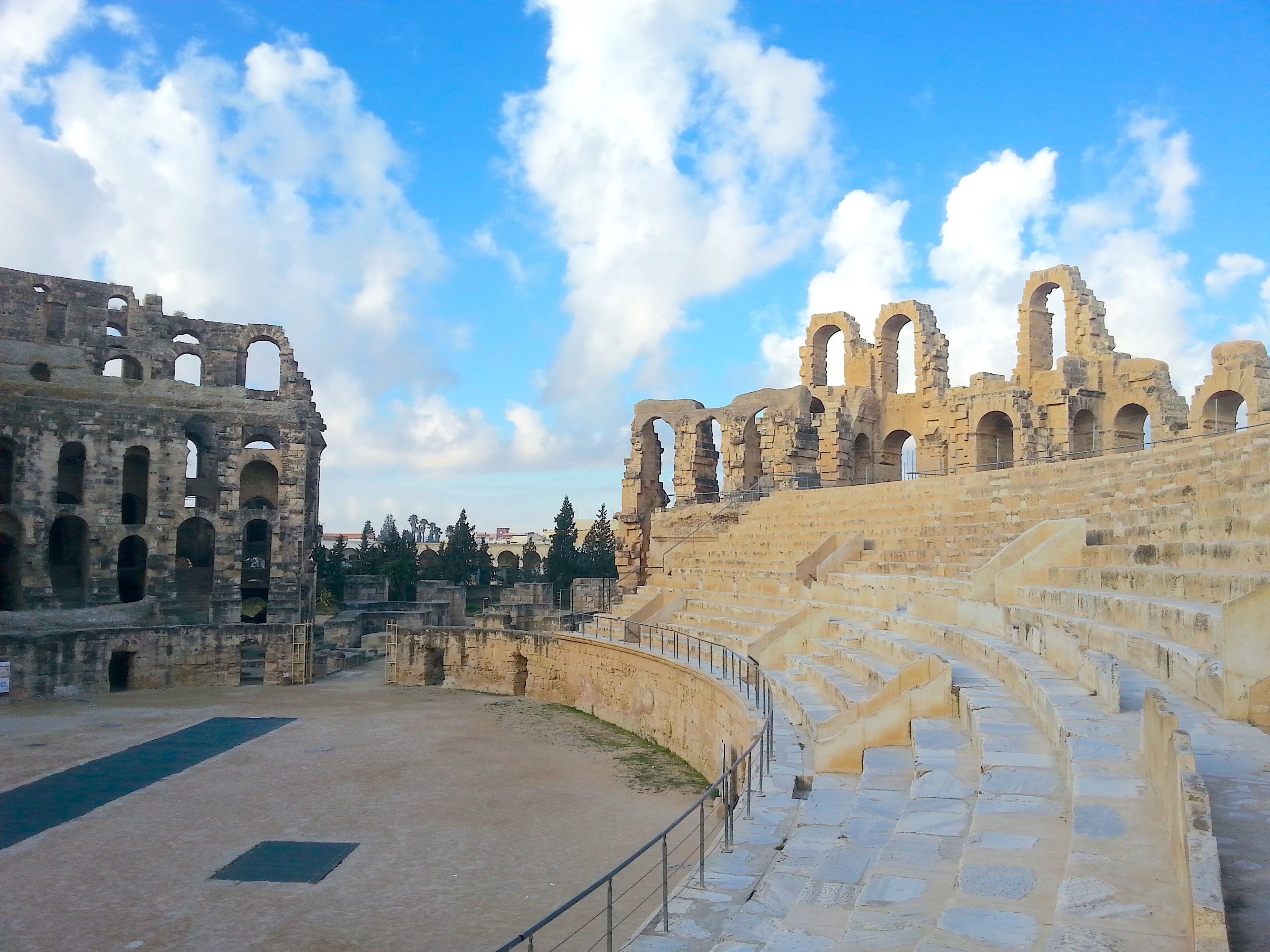Voyages Yulgo Tunisie El Jem Amphitheatre