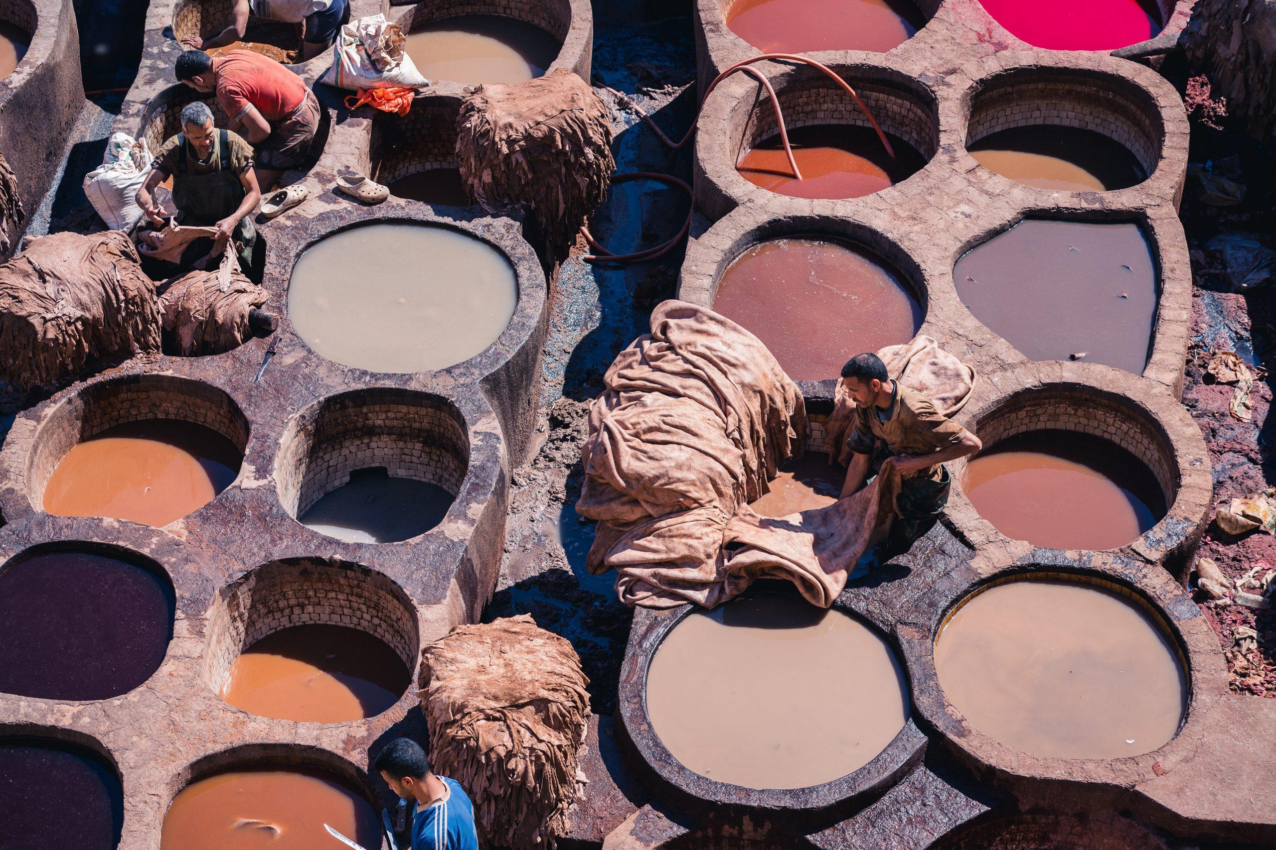 Voyages Yulgo Maroc Fès quartier tanneurs
