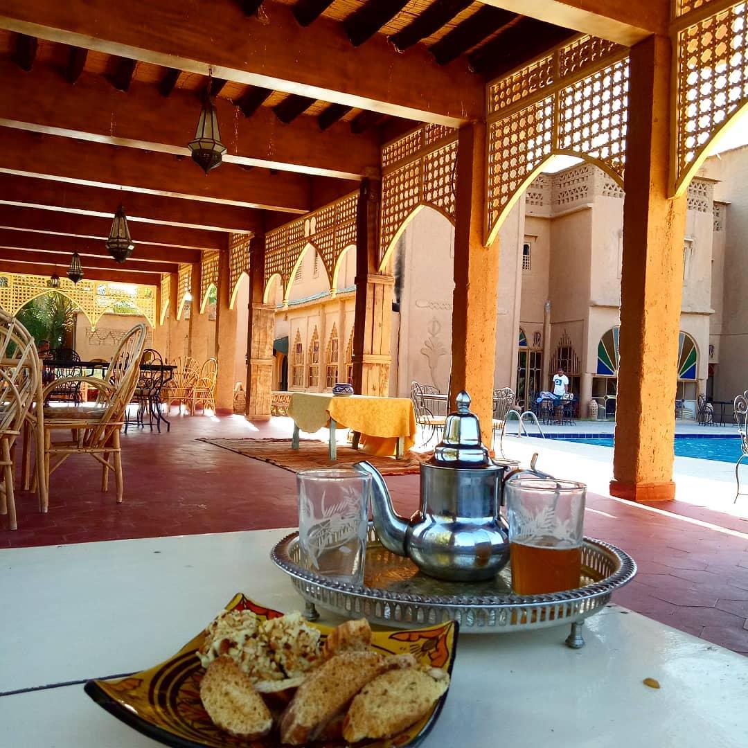 Voyages Yulgo Maroc déjeuner