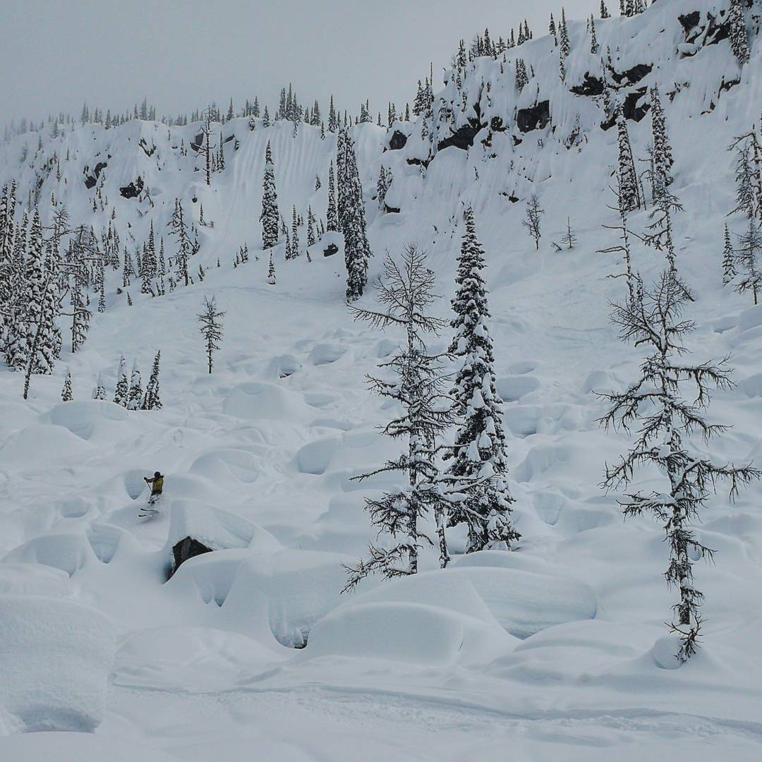 voyage de ski Ouest canadien