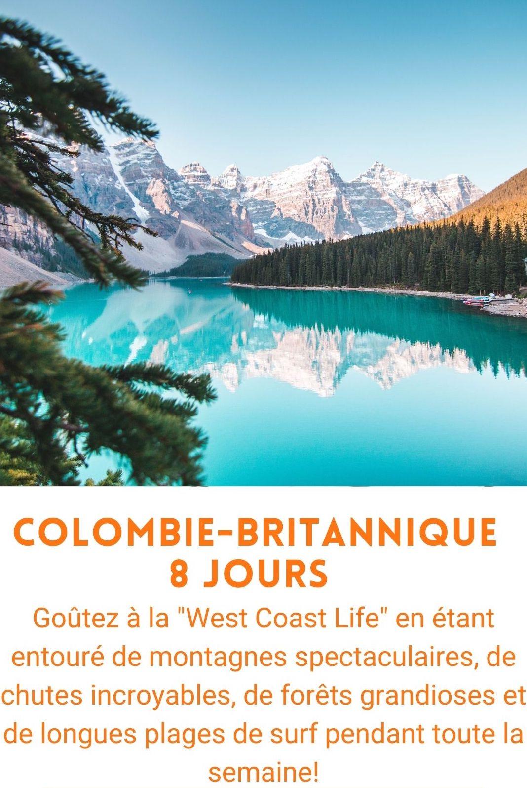 voyage organisé colombie-britannique
