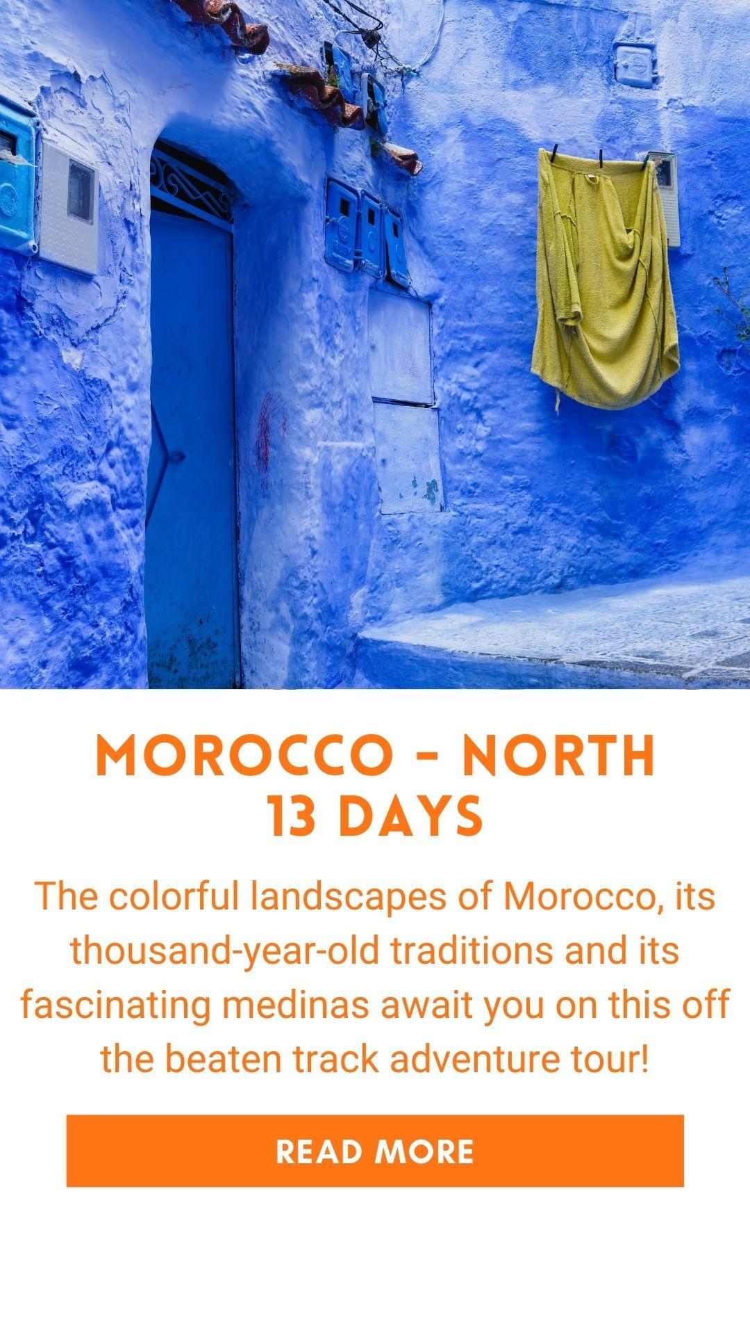 Organized trip in Morocco