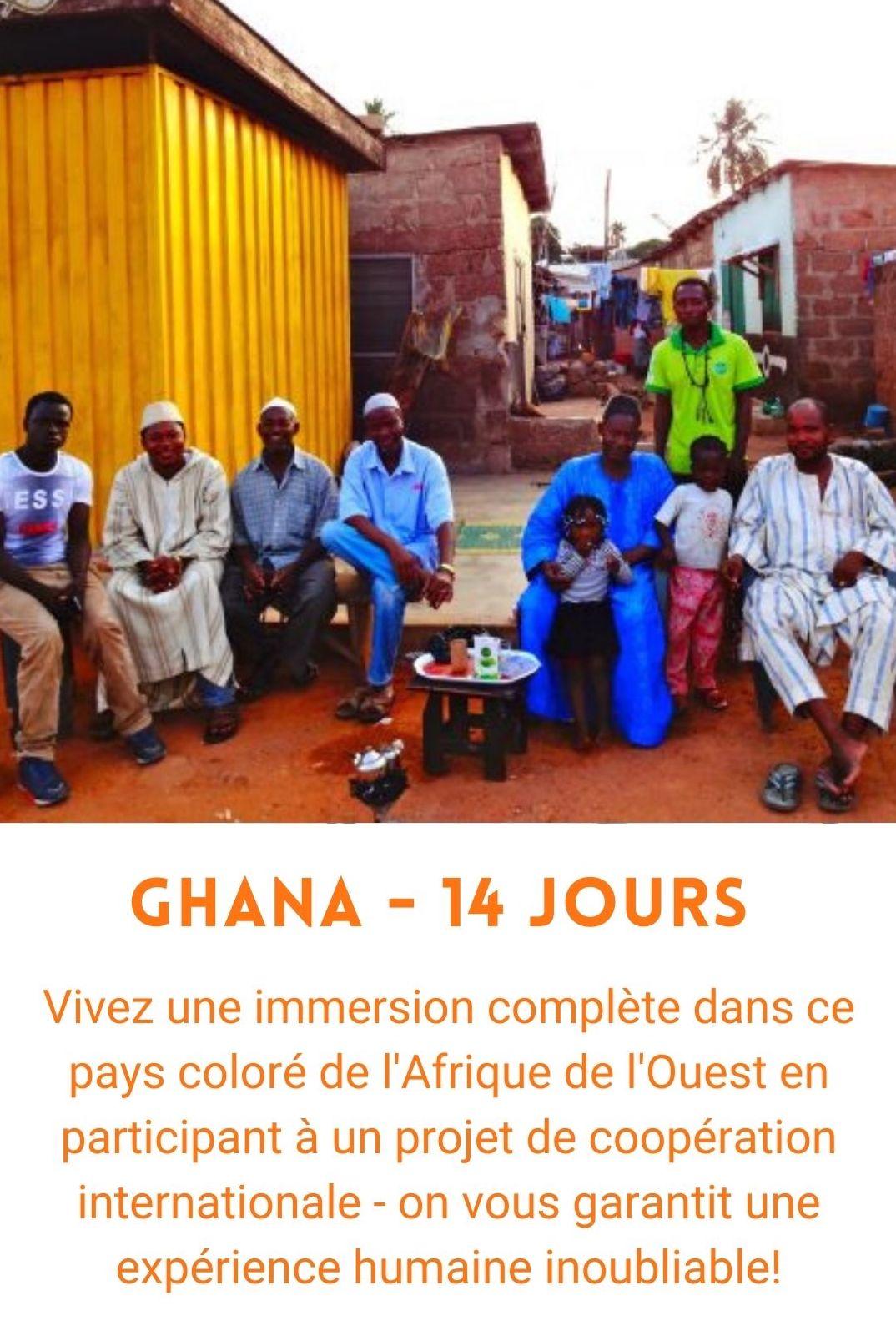Voyage organisé au Ghana (voyage humanitaire)