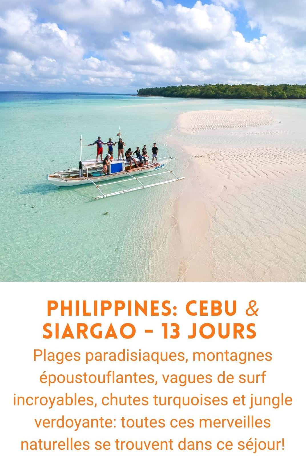 Voyage organisé aux Philippines