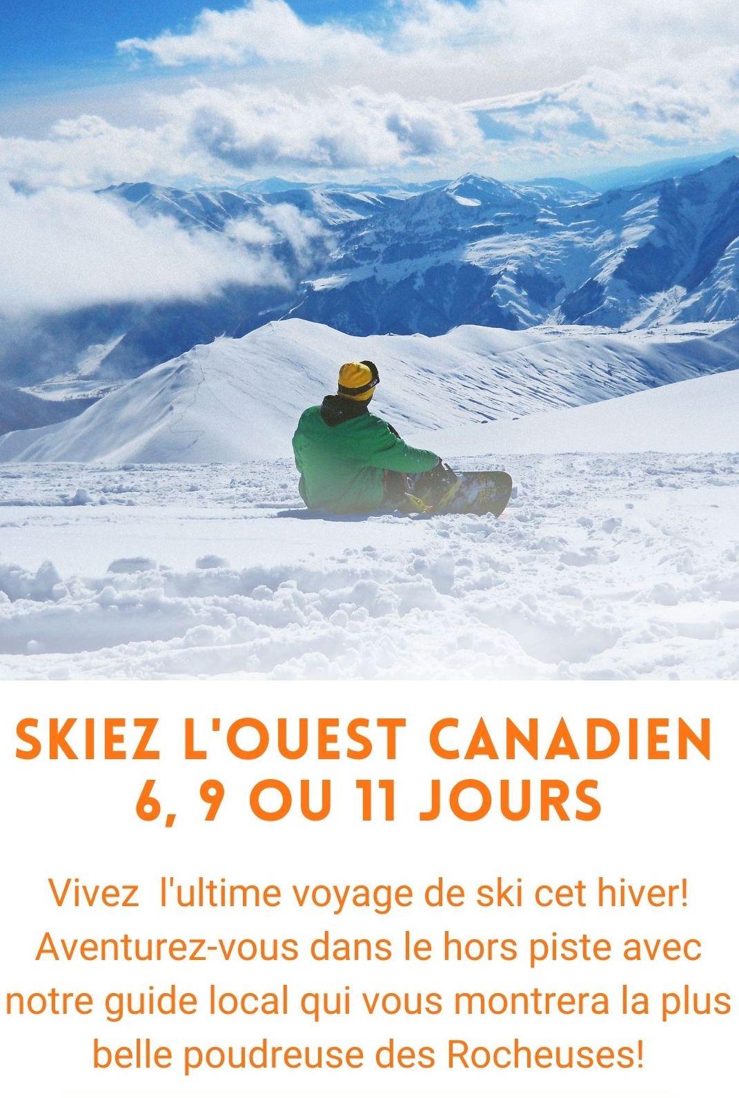 Voyage organisé dans l'Ouest canadien
