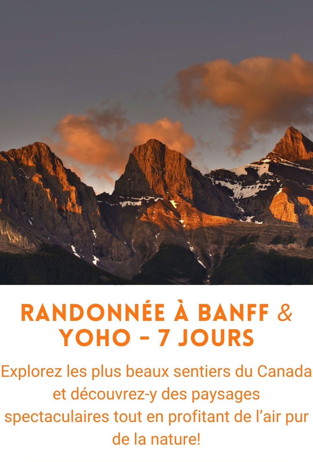 voyage organisé Banff & Yoho