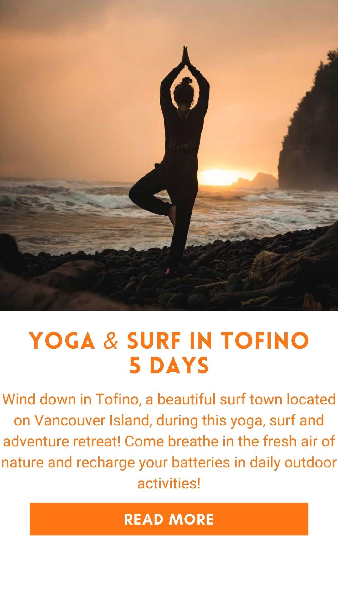 retraite de yoga tofino