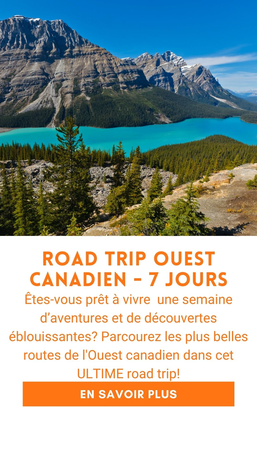 Road trip ouest canadien