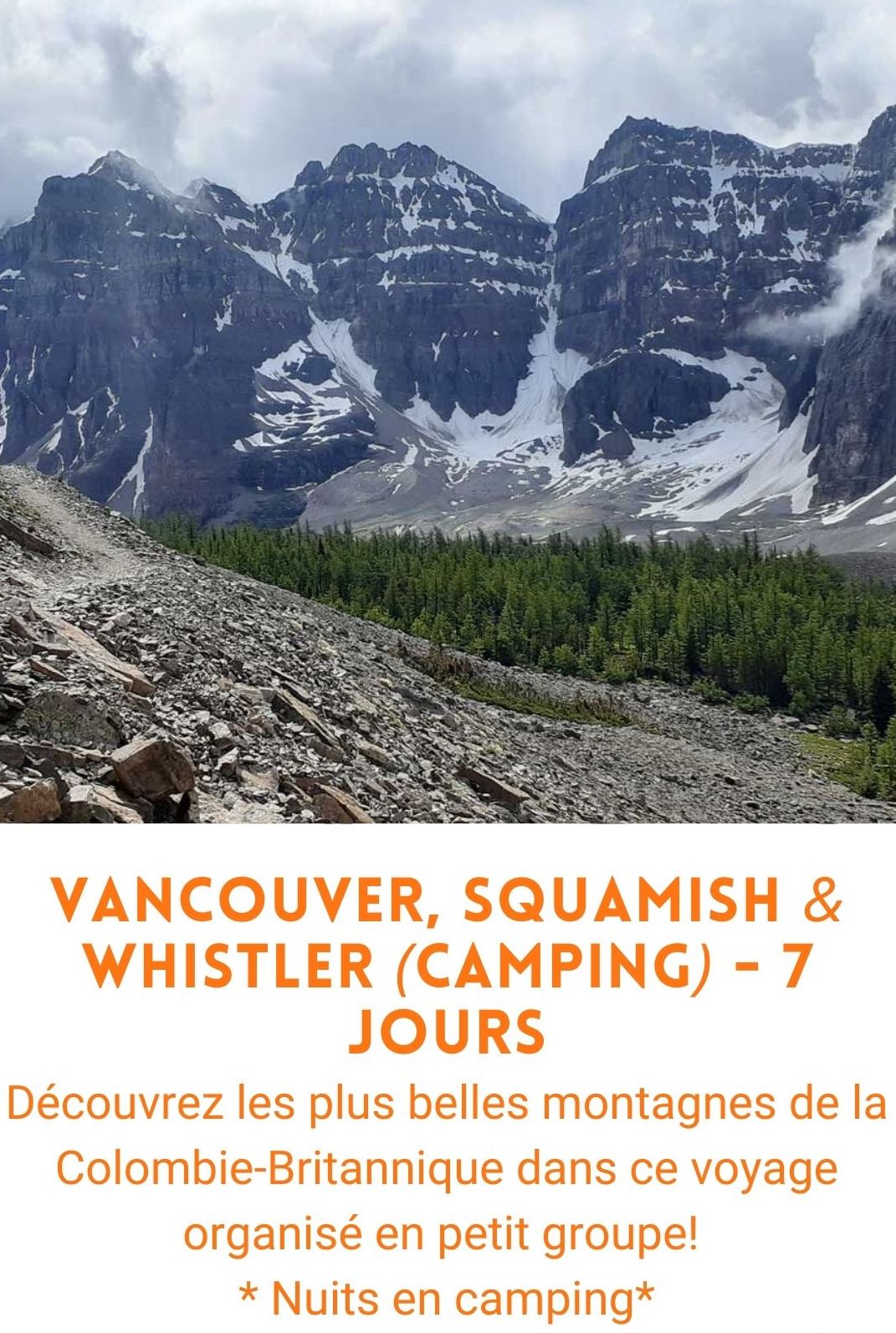 voyage organisé Vancouver, Squamish, Whistler