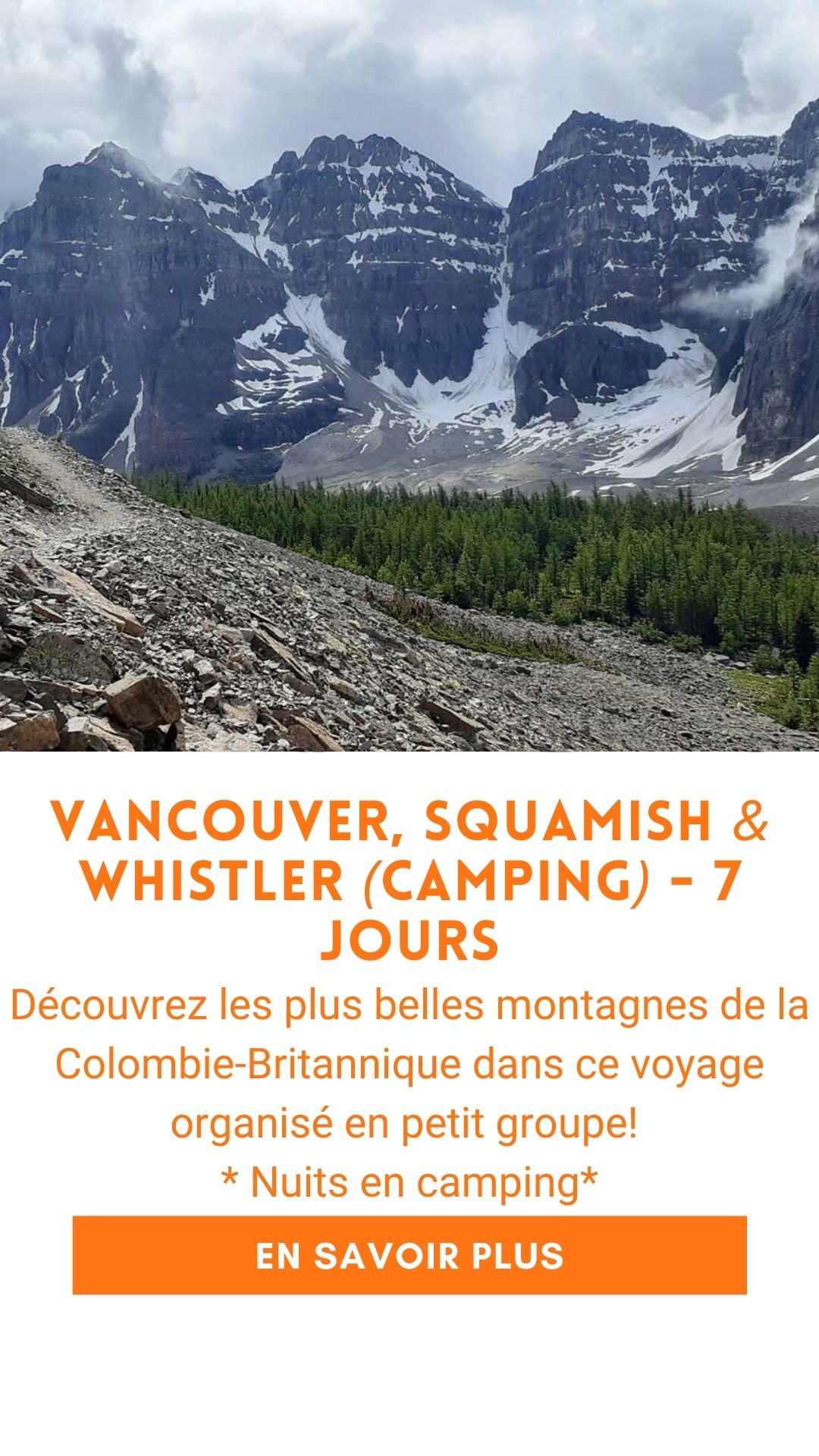 ouest canadien voyage